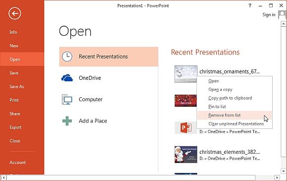 Как открыть файл, презентацию в PowerPoint Online
